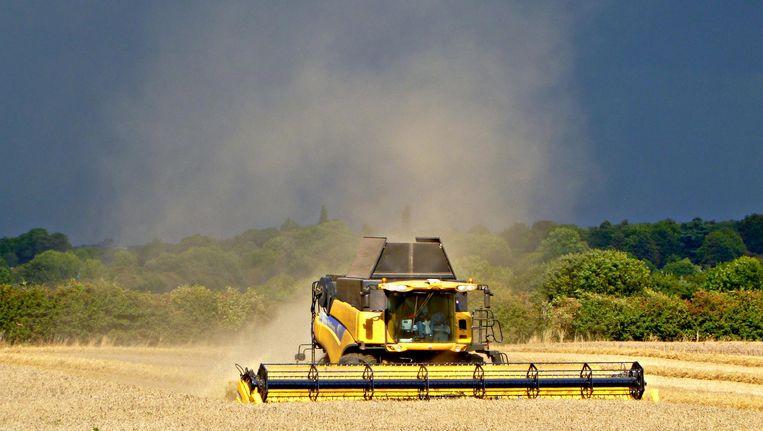 New Holland maakt onder meer zware machines voor de landbouw. Beeld Wikimedia Commons