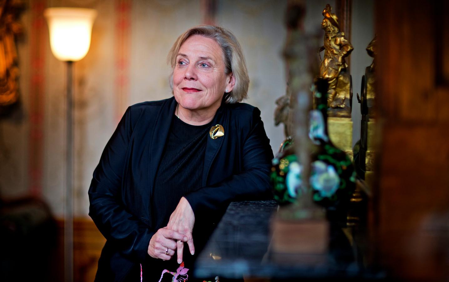 Minister van Defensie Ank Bijleveld.