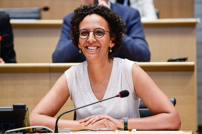 La secrétaire d'Etat bruxelloise Barbara Trachte, chargée de la Transition économique (Ecolo).