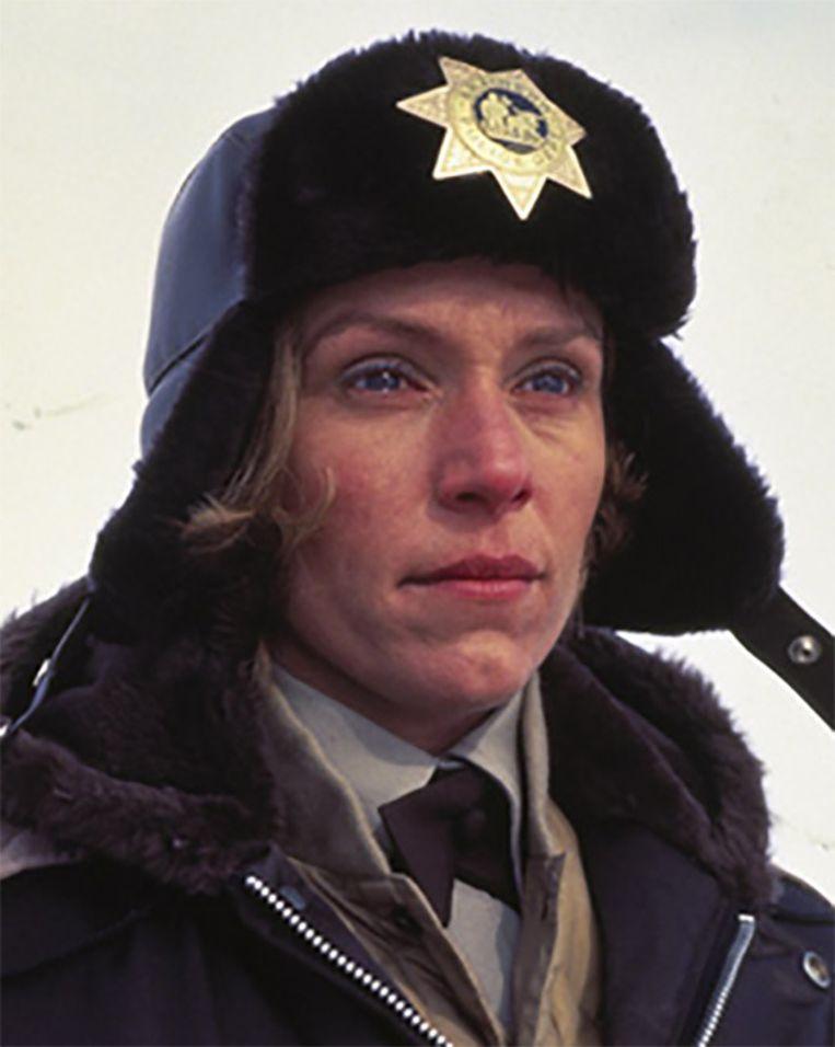 Frances McDormand als Marge Gunderson in Fargo (1996) Beeld fanpop.com