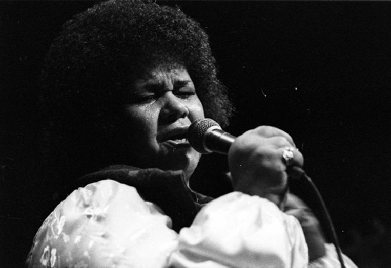 Etta James in 1997 Beeld getty