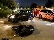 Scooterrijder gewond bij aanrijding in Cuijk