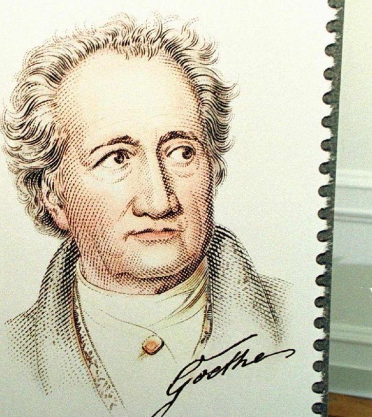 Goethe Verkozen Tot Grootste Duitser Trouw