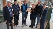 Meubelmakerij Vandenberghe krijgt vakmanschapslabel van Unizo