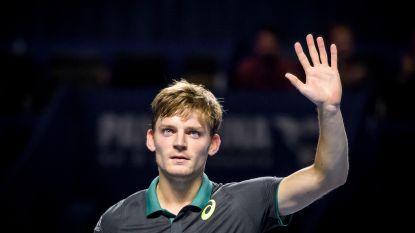 Goffin naar achtste finales in Bazel - Williams verslaat Ostapenko op Masters