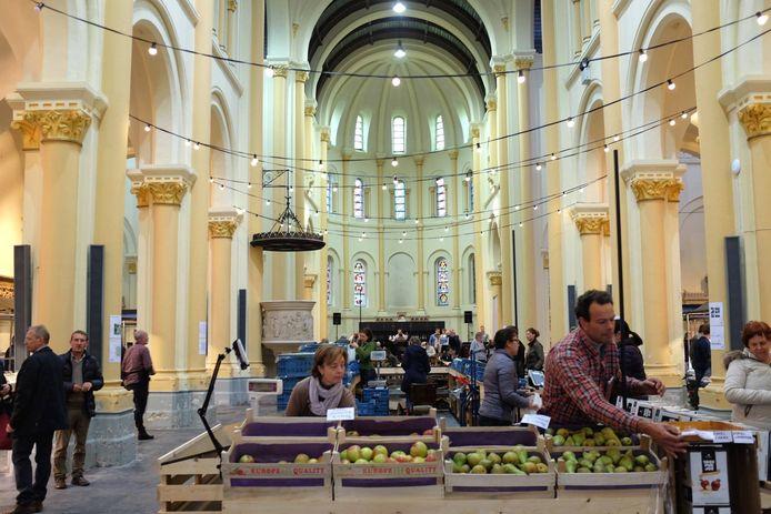 Lokaalmarkt op het De Coninckplein