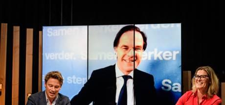 Rutte is nog lang niet klaar als minister-president, vertelt hij aan Twente