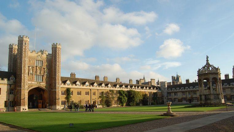The Great Court van de universiteit in Cambridge. Beeld afp