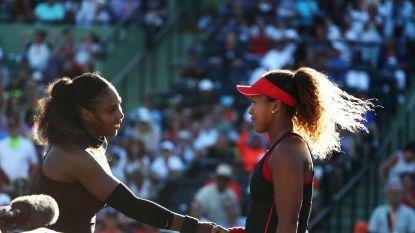 Japanse kegelt Serena Williams al in eerste ronde uit het toernooi - Na Van Uytvanck wint ook Kirsten Flipkens in Miami