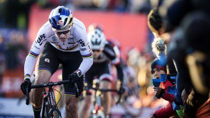 """Waarom Wout van Aert in Tabor zo fel terugzakte en pas zevende eindigde: """"Leegloper en niet goed genoeg"""""""