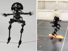Bijzondere robot kan door unieke balans koorddansen en skateboarden