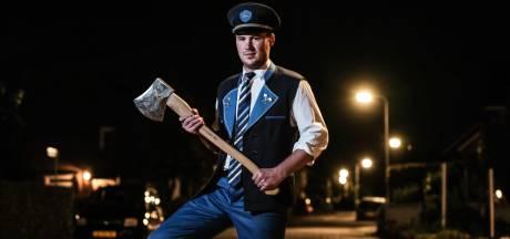 Sam (21) hakt zich tussen de potige kerels naar titel beste bieleman van Gelderland