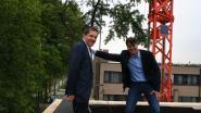 Vlot!-scholengroep plant meiboom op nieuwbouw campus Sint-Laurentius