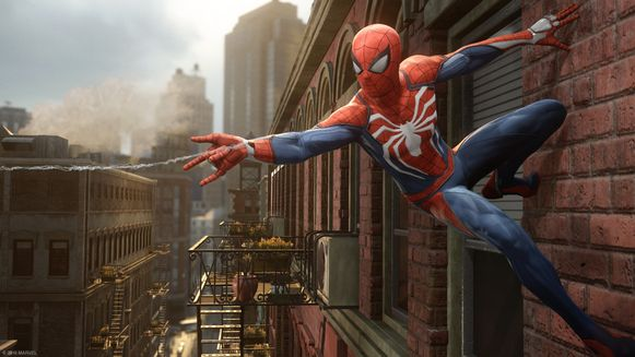 Webslingeren en muurkruipen troef in 'Spider-Man'.