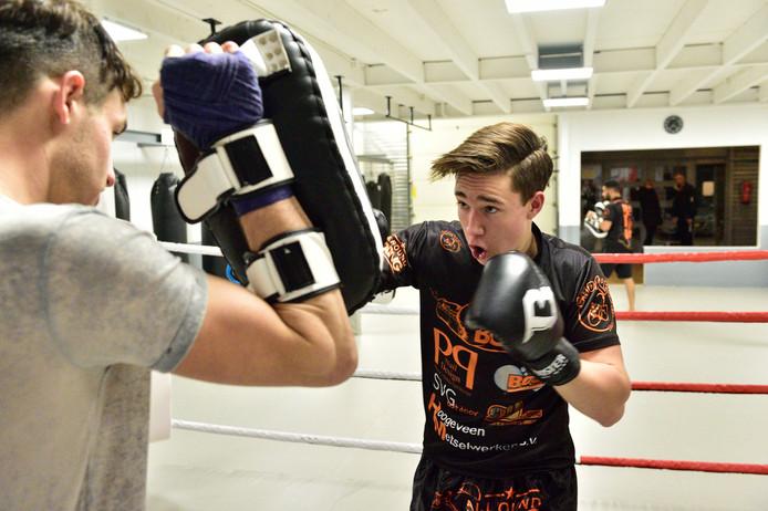 Trainen voor een bokswedstrijd is geestelijk en lichamelijk zwaar.