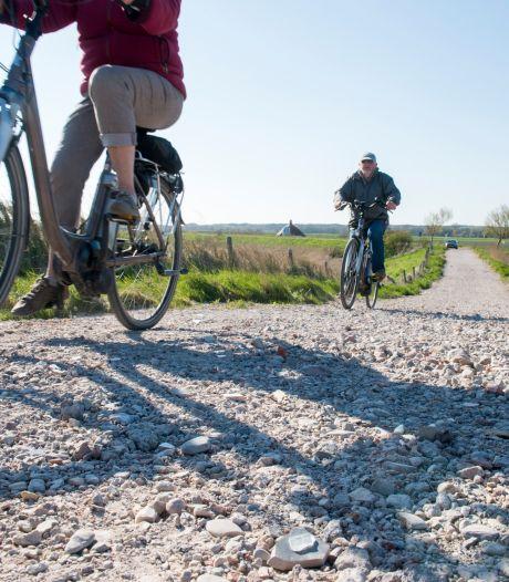 Plastic afval verwerkt in wegen en paden en dat is (nog) niet te voorkomen