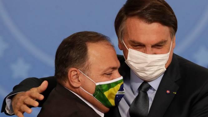 Voormalig Braziliaans minister van Volksgezondheid kiest kant van Bolsonaro