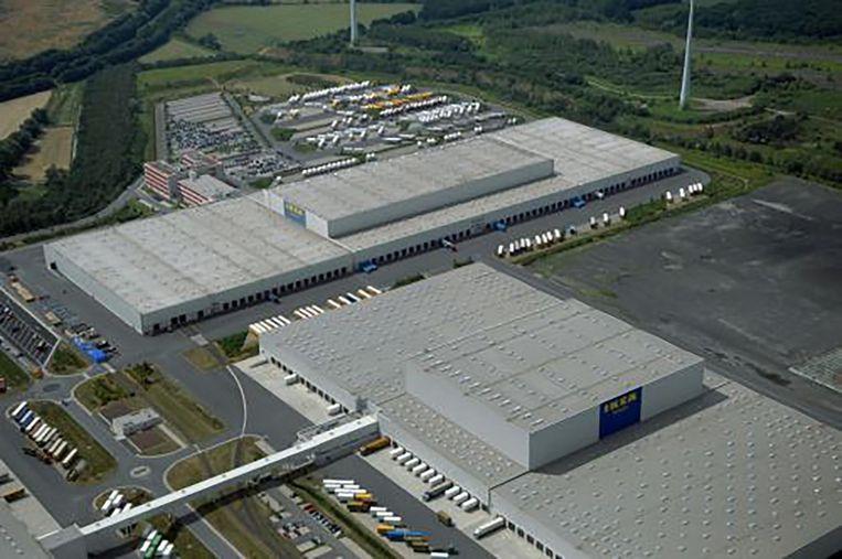 Het grootste depot van Ikea is gevestigd in Dortmund, Duitsland.