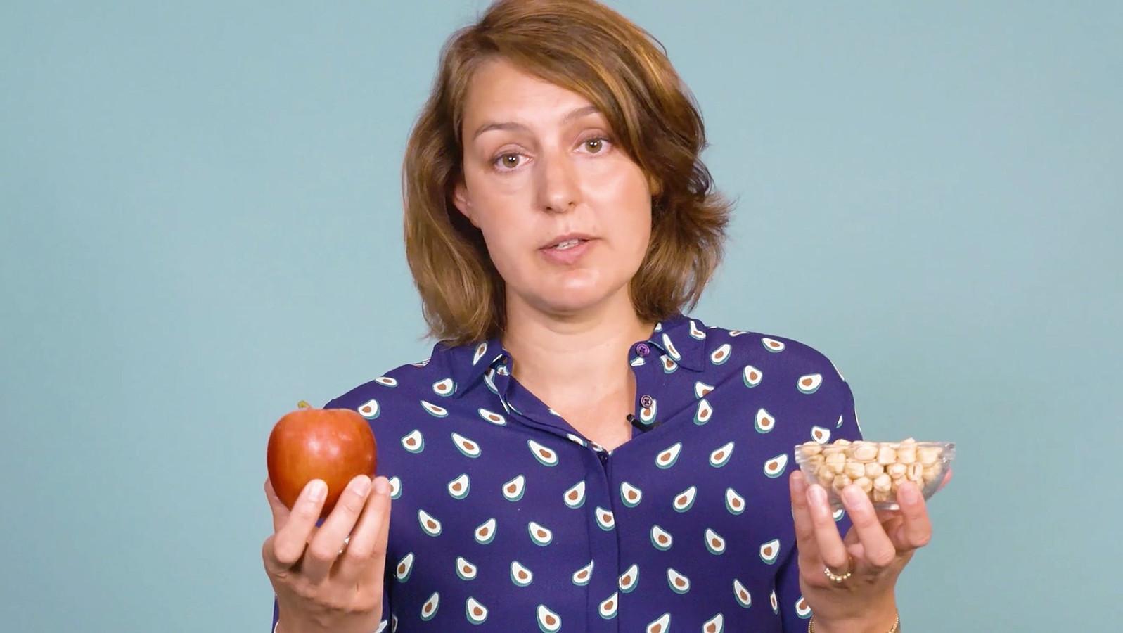 Dermatoloog Marlies de Graaf legt uit wat een voedselallergie is.