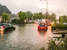 Noodweer zorgt voor overlast in Oost-Nederland, Brabant en Limburg