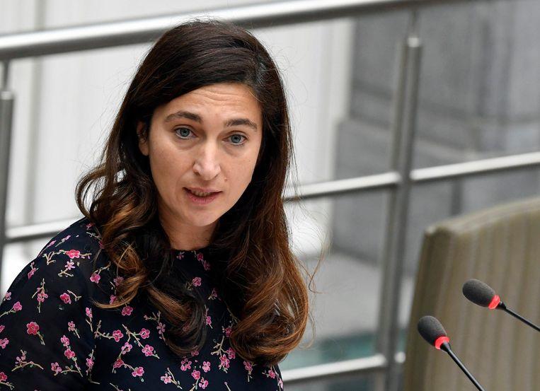 Vlaams minister van Energie en Omgeving Zuhal Demir (N-VA). Beeld Photo News