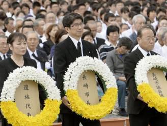 Japan herdenkt explosie atoombom in Nagasaki