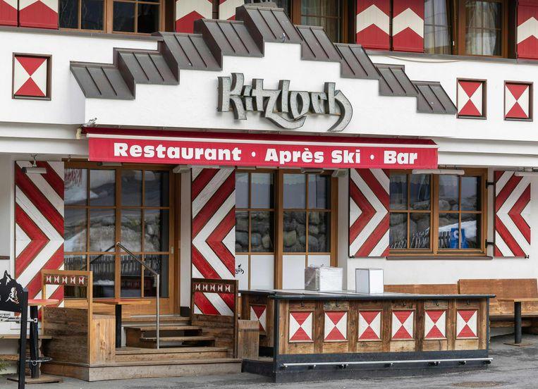 Veel vroege coronabesmettingen zijn te herleiden zijn naar deze après-skibar Kitzloch in het Oostenrijkse Ischgl. 4500 mensen dienen een groepsvordering in tegen de corona-aanpak van Tirol en tegen het Tiroler bureau voor toerisme.  Beeld AFP