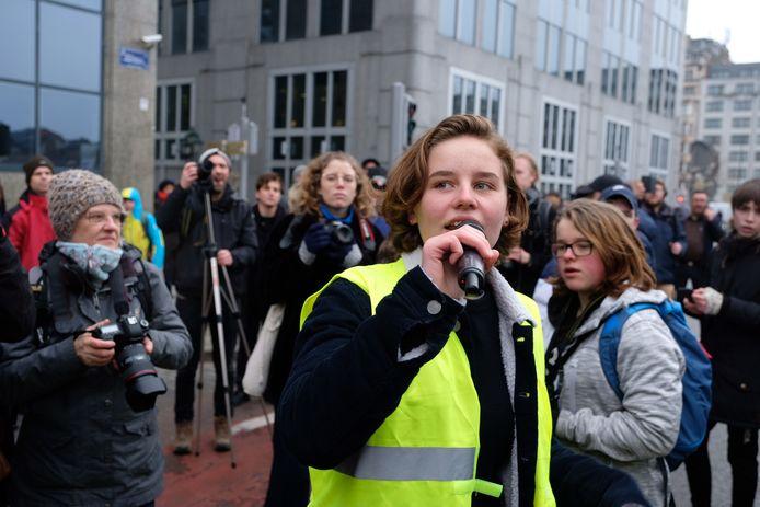 Ook bezielster Anuna De Wever is opnieuw aanwezig in de hoofdstad.