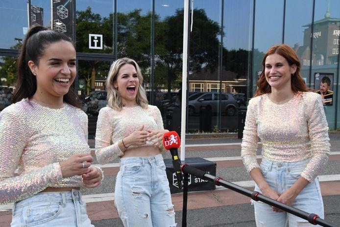 Marthe De Pillecyn, Klaasje Meijer en Hanne Verbruggen, de drie kanjers van K3
