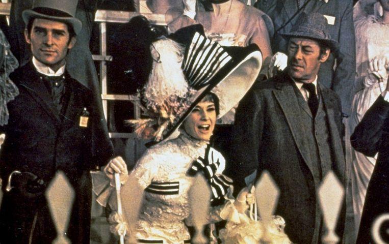 Audrey Hepburn is te zien in de klassieker My Fair Lady. Beeld anp