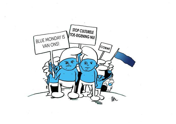 De kijk van Sven De Potter op Blue Monday.