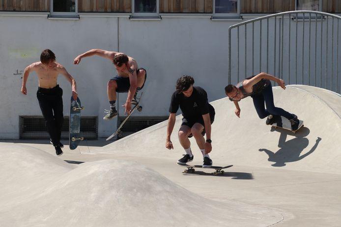 Sfeerbeeld: skaten.