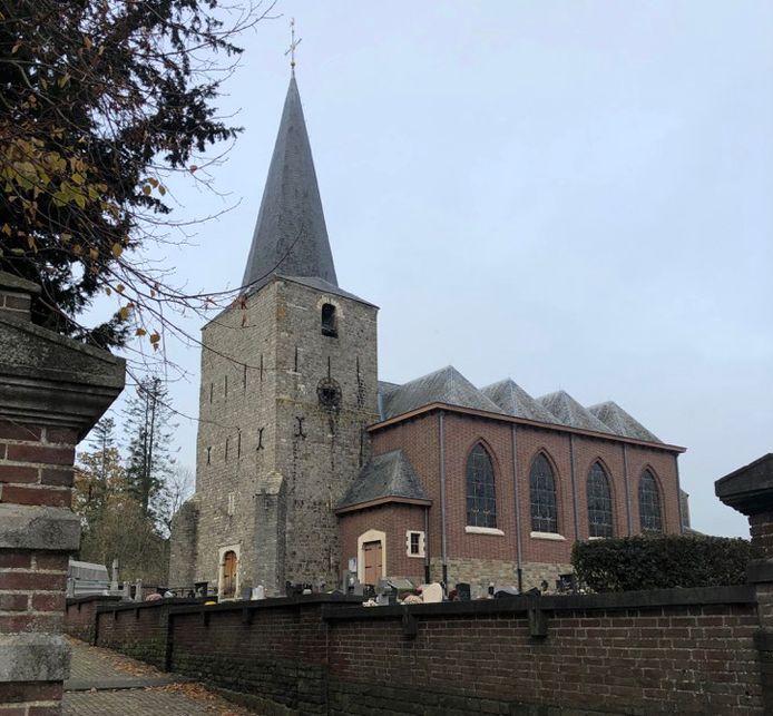 De kerk in Bunsbeek blijft voorlopig dicht.