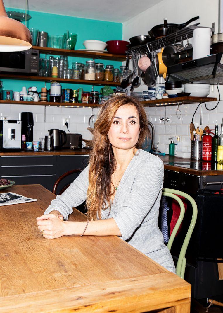 Yula Altchouler emigreerde met haar ouders vanuit Rusland naar Nederland.  Beeld Hilde Harshagen