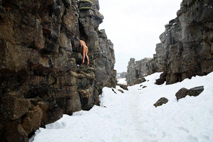 Marisa Papen in IJsland.