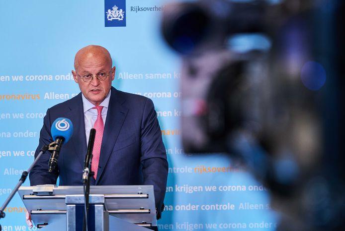 Minister Grapperhaus (Justitie en Veiligheid)
