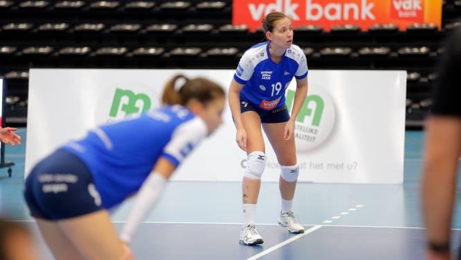 """Charlotte Desmet (VDK Gent): """"Iedereen speelt ontzettend graag volleybal, maar we tonen het niet op het veld"""""""