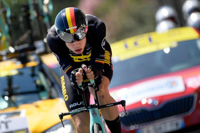 La malchance de Victor Campenaerts aux championnats du monde, permet à Wout Van Aert de conserver une chance de disputer le chrono des Jeux, l'an prochain, à Tokyo.