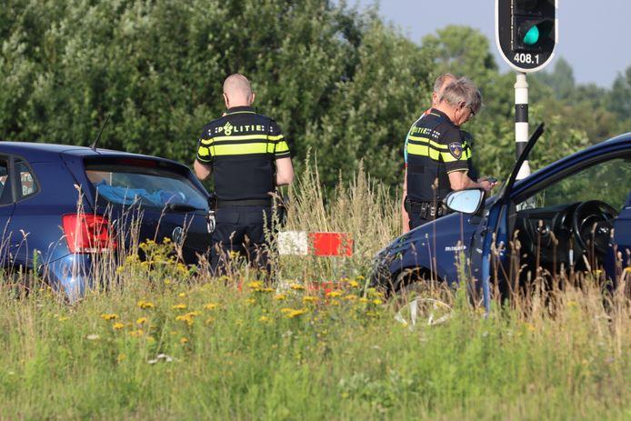 Een vrouw is gewond geraakt bij een ongeluk op de Rondweg De Klomp, Rondweg Oost N233.