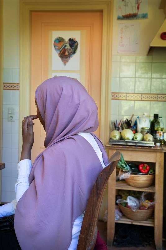 De Somalische Roda Abullahi kwam als kleuter zonder ouders naar Nederland.