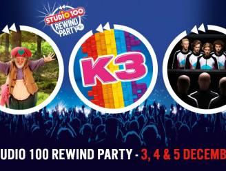 De nieuwe K3 geeft allereerste optreden tijdens de Rewind Party in het Sportpaleis