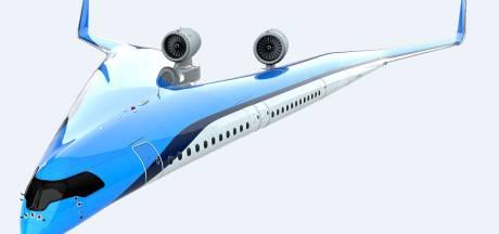 Vliegen in vleugels? KLM en TU Delft werken aan V-vormig vliegtuig