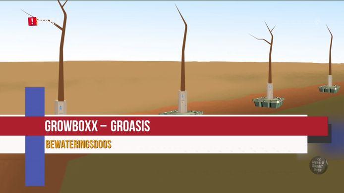 De Growboxx van Groasis.