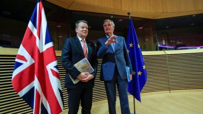 Lage verwachtingen bij lancering derde onderhandelingsronde tussen EU en Britten