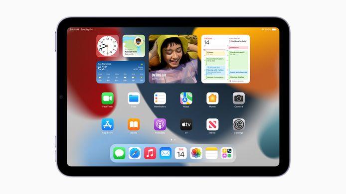 De nieuwe iPad mini.