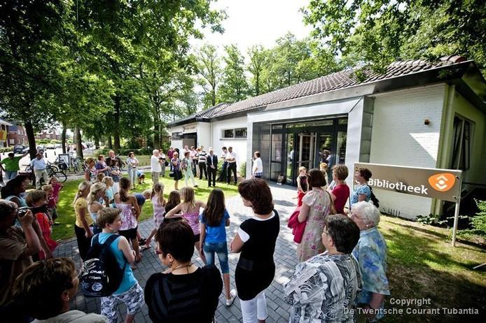 Zes jaar geleden heropende de bibliotheek van Geesteren met veel feestelijk vertoon.