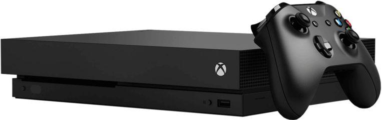 De Xbox One X. Beeld Microsoft