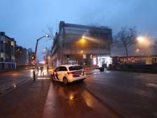 Brand in voormalige ABN AMRO aan Stadhuisplein Eindhoven onder controle, persoon uit pand gehaald