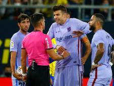 Piqué roept op tot eenheid bij Barcelona: 'We moeten ons niet in twee kampen laten drijven'