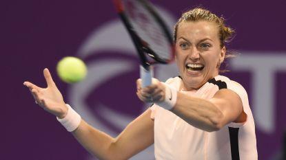 """Petra Kvitova geeft geblesseerd forfait in Dubai: """"Mijn lichaam heeft nood aan rust"""""""